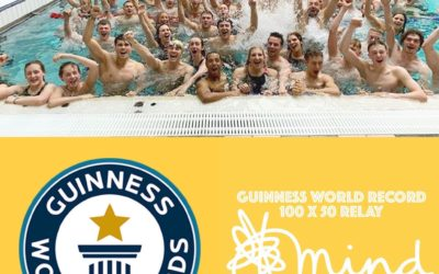 New Guinness Record for 100 x 50m Relay